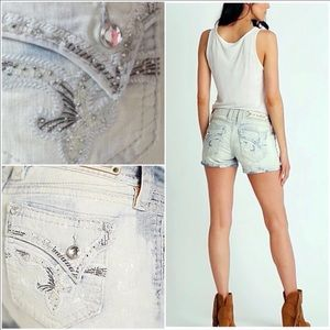 🌸Rock Revival Faded Distressed Shorts NWT